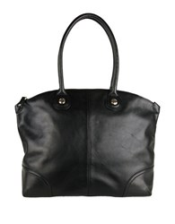 Cole Haan Delphine Leather Tote Black