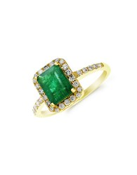 Effy Red Box Gallery 14K Yellow Gold Emerald Ring Emerald Gold
