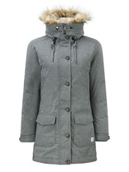 Tog 24 Kelso Womens Milatex Down Parka Jacket Grey