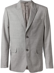 Carven Two Button Blazer Grey