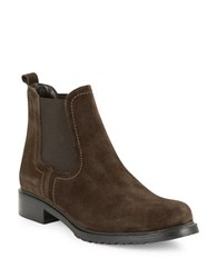The Flexx Shetland Suede Ankle Boots Brown