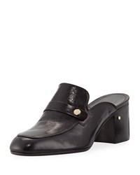 Laurence Dacade Thelma 55Mm Block Heel Mule Loafers Black