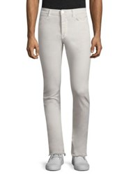 Iro Slim Fit Solid Jeans Cloudy White