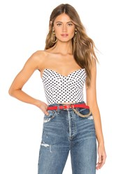 By The Way Jackson Corset Top White