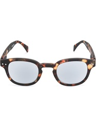 See Concept Tortoise Shell Sunglasses Brown