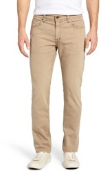 Fidelity Men's Denim Jimmy Slim Straight Leg Jeans Sand