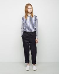 Golden Goose Belted Chino Pant Navy