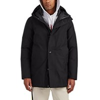 Woolrich Down Quilted Gore Tex Hooded Parka Black
