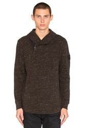 G Star Dawch Collar Sweatshirt Sage