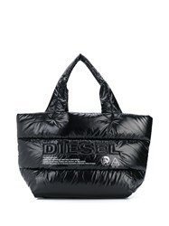 Diesel Padded Tote Bag Black