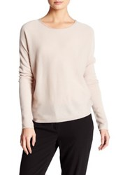 Inhabit Long Sleeve Cashmere Sweater Brown