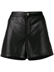 Liu Jo High Waisted Shorts Black