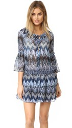 Red Carter Indigo Blues Cover Up Indigo Multi