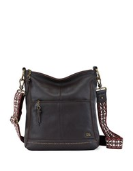 The Sak Lucia Crossbody Bag Mocha Sparkle