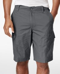 Club Room Men's Solid Rip Stop Shorts Only At Macy's Shark