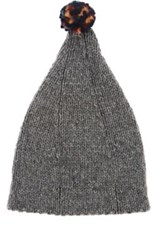 Grevi Men's Wool Blend Slouchy Hat Grey
