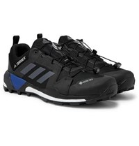 Adidas Sport Terrex Skychaser Xt Gtx Mesh And Rubber Hiking Shoes Black