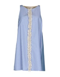 Jucca Short Dresses Blue