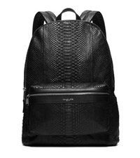 Michael Kors Python Backpack Black