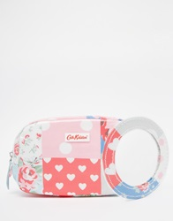 Cath Kidston Classic Box Make Up Case With Nylon Zip Patchwork