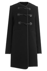 Carven Virgin Wool Coat Black