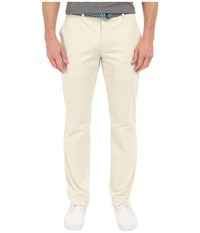 Vineyard Vines Slim Breaker Pants Stone Men's Casual Pants White