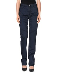 9.2 By Carlo Chionna Trousers Casual Trousers Women Dark Blue