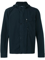 C.P. Company Cp Hooded Lightweight Jacket Blue