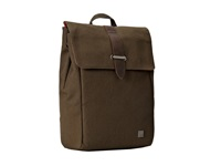 Knomo London Falmouth Laptop Backpack Olive Green Backpack Bags