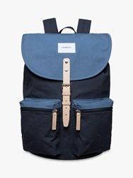 Sandqvist Roald Ground Backpack Multi Blue