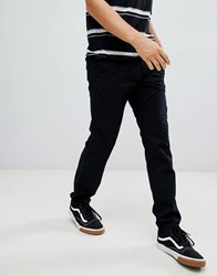 Esprit Slim Fit Chinos In Black