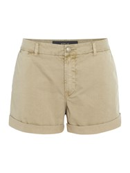 Replay Cotton Shorts Brown