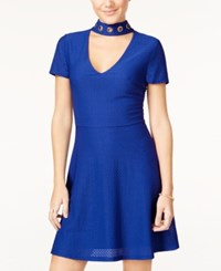 Material Girl Juniors' Embellished Fit And Flare Dress Only At Macy's Surf The Web