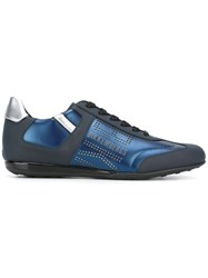 Dirk Bikkembergs Lace Up Sneakers Blue