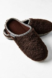 Woolrich Whitecap Mule Slipper Brown