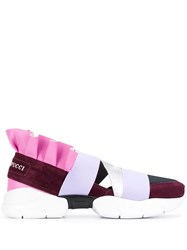 Emilio Pucci Pink City Up Trainers Purple