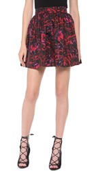 Partyskirts By Skot Liz's Party Skirt Red Pink Print