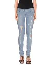 Met Denim Denim Trousers Women Blue