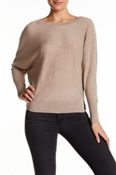 Zadig And Voltaire Embellished Elbow Patch Wool Blend Sweater Brown