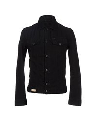 Replay Denim Denim Outerwear Men Black