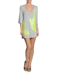 Milly Cabana Cover Ups Light Grey