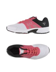 Emporio Armani Ea7 Footwear Low Tops And Trainers Men Fuchsia