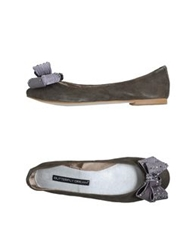 Butterfly Dream Ballet Flats Dark Brown