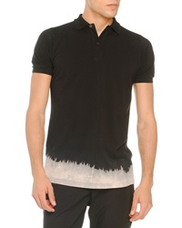 Tomas Maier Bleached Bottom Polo Black
