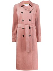 Harris Wharf London Double Breasted Corduroy Coat 60