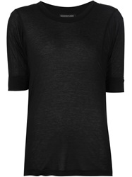 Alexandre Plokhov Short Sleeve T Shirt Black