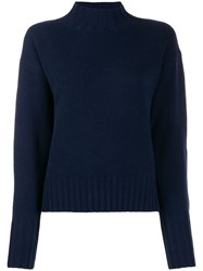 Allude Ribbed Turtle Neck Jumper 60