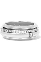 Piaget Possession 18 Karat White Gold Diamond Ring 6