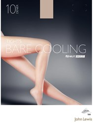 John Lewis 10 Denier Bare Cooling Tights Pack Of 1 Nude