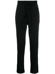 Transit Knitted Slim Fit Track Pants Black